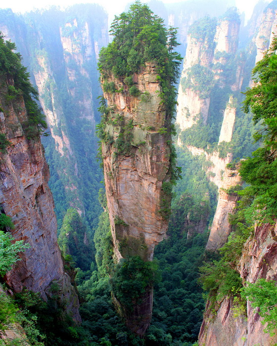 15. Tianzi Mountains (China)