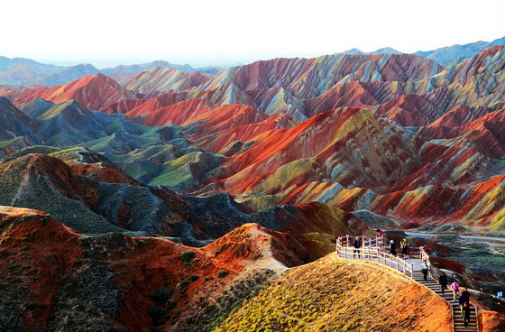 19. Zhangye Danxia Landform (China)