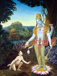 Dhruva susreće Gospodina Višnua