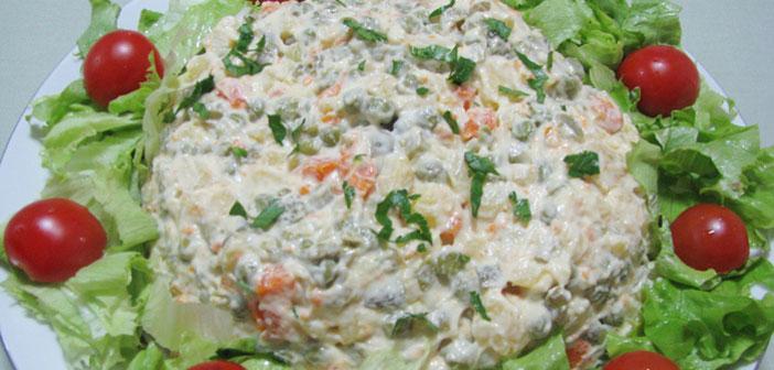 Veganska Francuska salata - Sočna i lagana tekstura, posluživat ćete je uz sve!