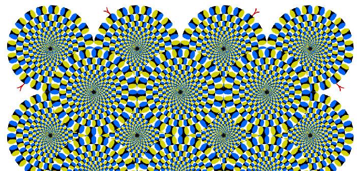Test prof. Kitaoka: Rotirajuća zmija će vam odmah izmjeriti količinu stresa!