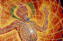 Holy Fire Panel 1 Alex Grey 1987 Crop