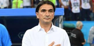 1024px Zlatko Dalić Croatia national team head coach ahead of the Russia v Croatia match 7 July 2018