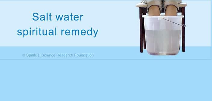 Odstranite nakupljenu negativnu energiju iz tijela slanom vodom - evo tehnike!