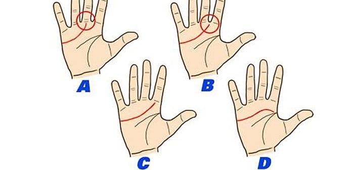 Linija srca otkriva: Ako počinje odmah između kažiprsta i srednjeg prsta - srce dajete suviše lako!