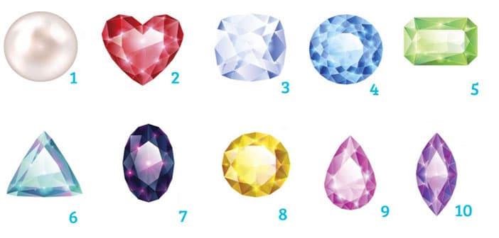 Test: 10 dragulja i 10 tipova osobnosti - Koji vas najviše privlači?