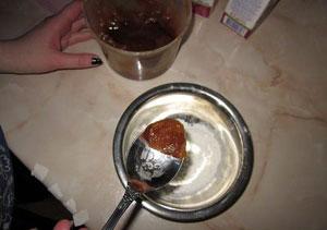 Как сделать лепёшку при бронхите