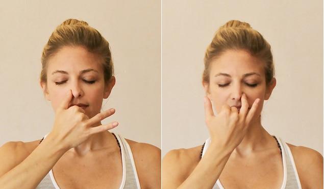 Uravnotežite se u kratkom roku naizmjeničnim nosnim disanjem - Evo tehnike!