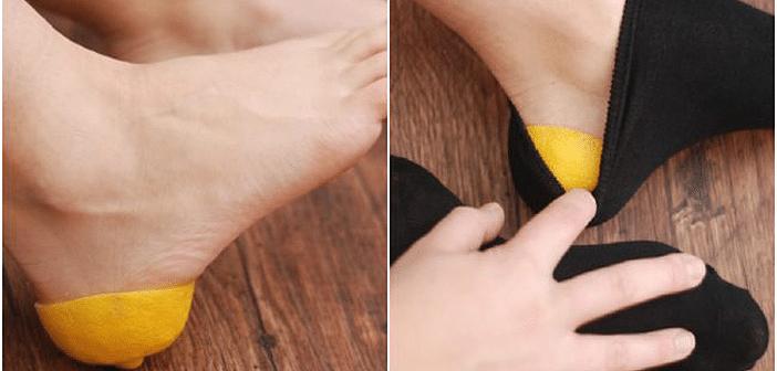 Ovo morate probati: Kako se riješiti grube kože na petama uz pomoć limuna!