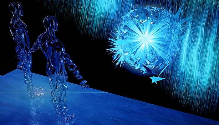 Materija je iluzija - Vi ste svjetlosno biće