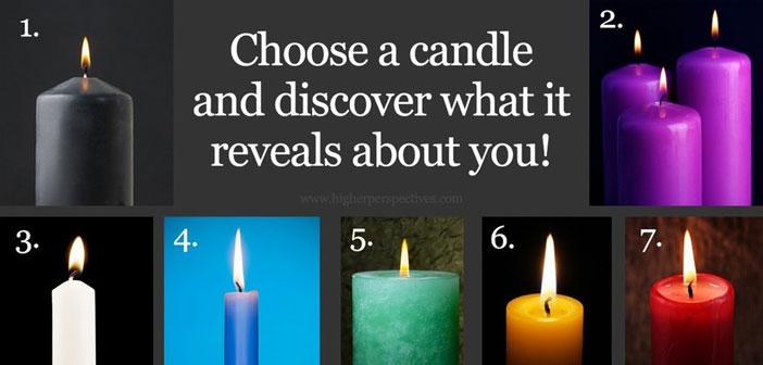 Odaberite sliku jedne svijeće - Ona otkriva vašu trenutnu životnu fazu!