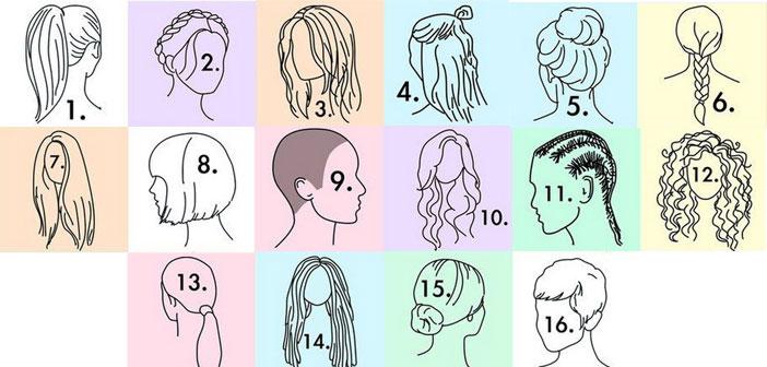 16 FRIZURA - 16 OSOBNOSTI: Što o vama govori VAŠA frizura? Test iznenađuje točnošću!