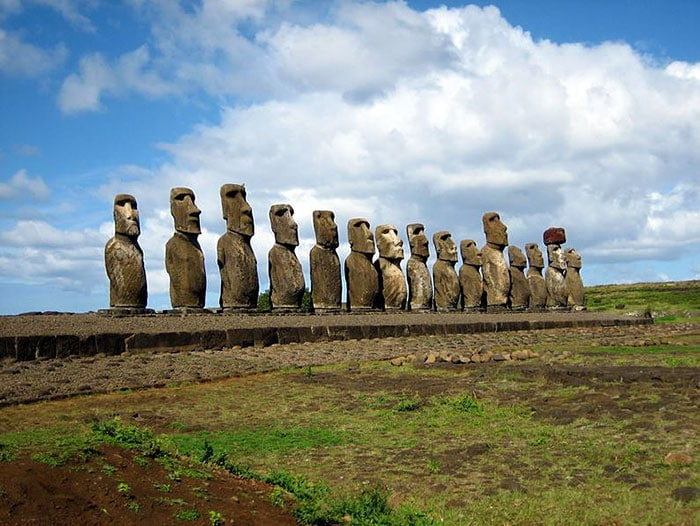 10. The Easter Island