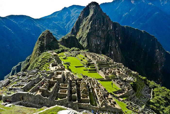 3 Machu Picchu in Peru