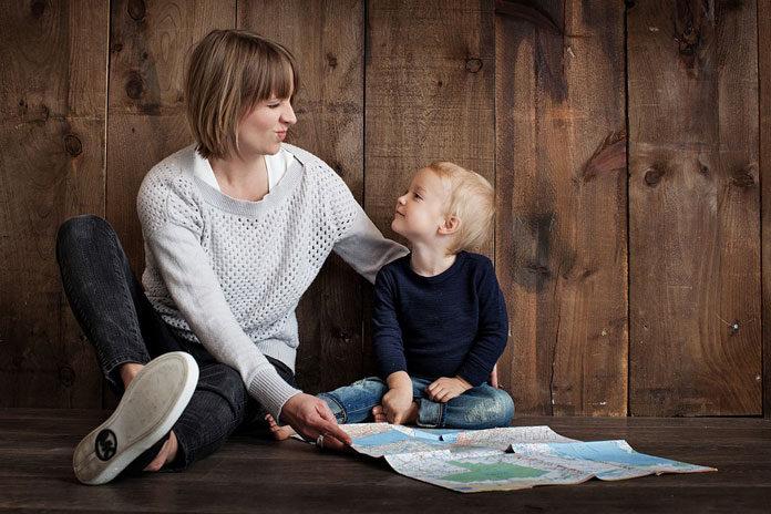 samohrana mama koja se ne druži