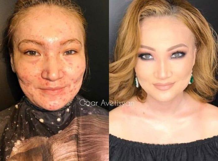 Makeup transformation goar avetisyan
