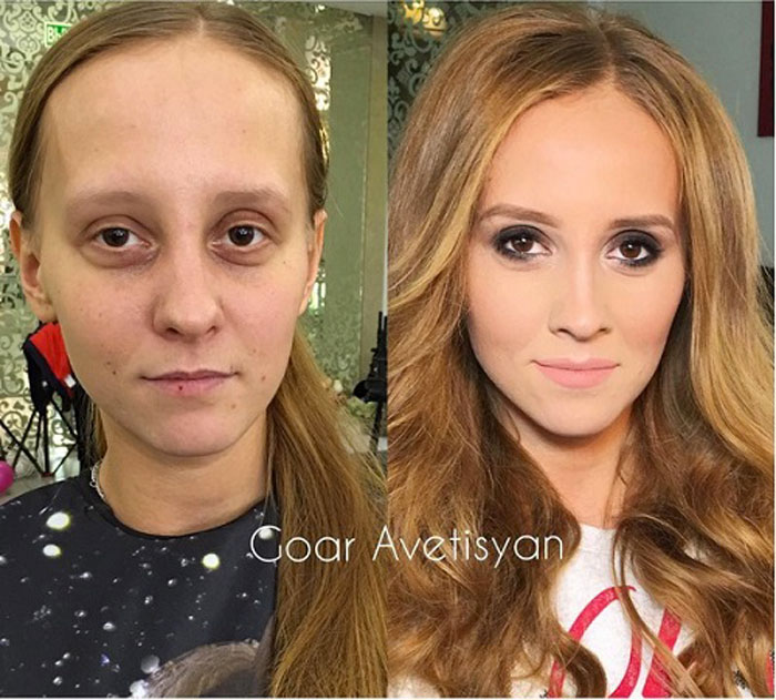Never Trust A Woman In Make Up The Reason Is These 28 Unbelievable Photos. 1 1