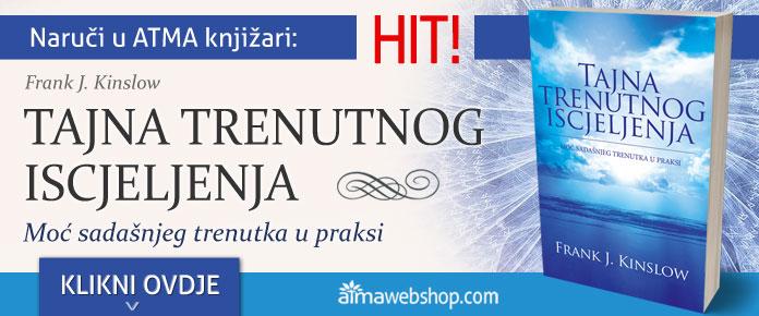 banner za knjige TAJNA TRENUTNOG ISCJELJENJA