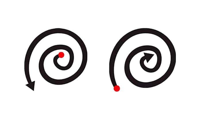 Iznutra prema van ili obrnuto? Način na koji crtate SPIRALU otkriva OVO o vama!