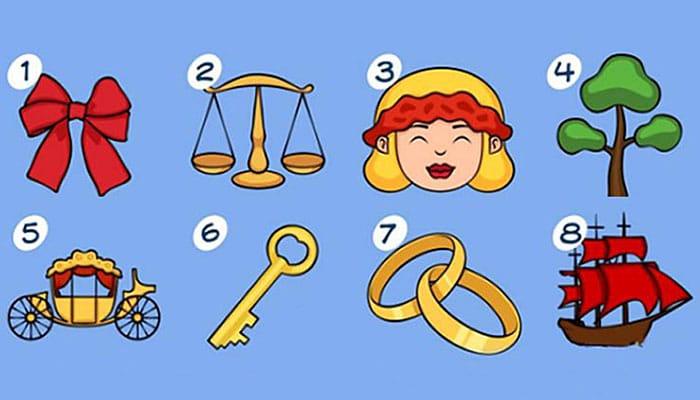 Koji vam je simbol najvažniji? Vaš izbor će predvidjeti nešto u vašoj budućnosti!