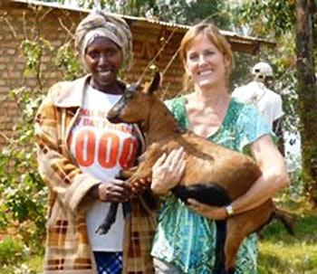 Abishyizehamwe goat Danna