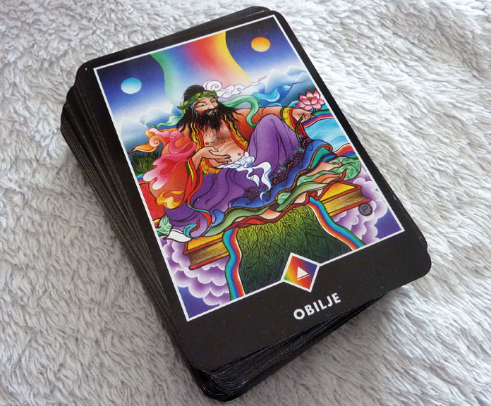 Obilje karta Osho zen tarota Fotografija Boris Pecigoí