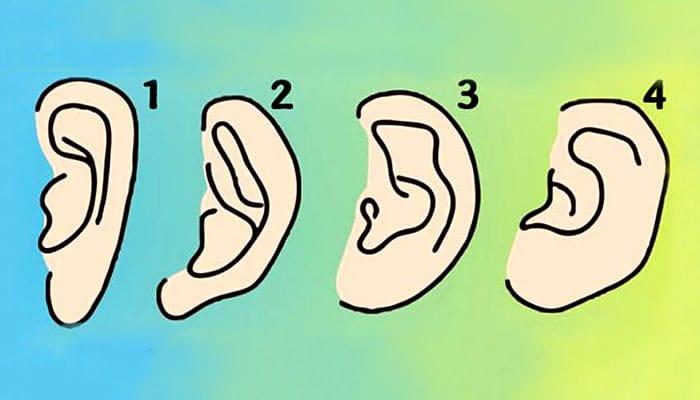 Oblik vaših ušiju govori o vašoj osobnosti - Koji je vaš tip uha?