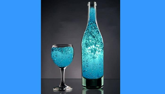 Kako napraviti plavu solarnu vodu - Pijte ove vode što više možete!
