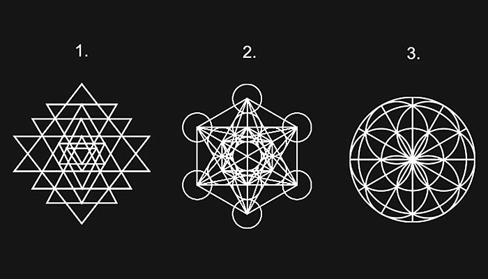 Odaberite 1 sveti geometrijski oblik - On otkriva koji je način IZBACIVANJA NEGATIVNOSTI najbolji za vas!