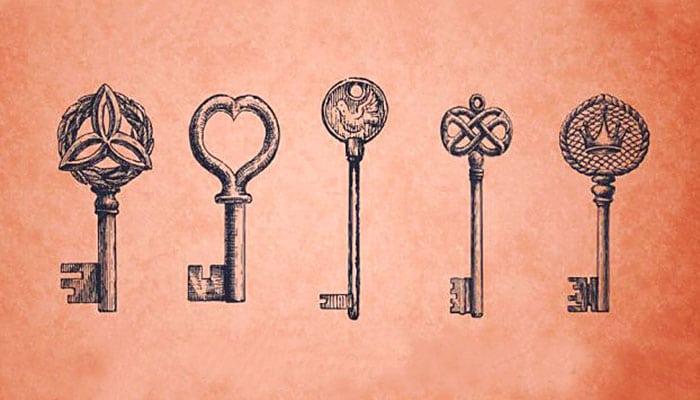 Ključ koji vas najviše privlači otkriva vašu magičnu moć!