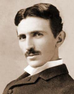 Nikola Tesla genijalni naučnik portret slika rodjen mesto Smiljane