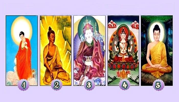 Odaberite Buddhu kako bi vidjeli svoju budućnost i primili poruku