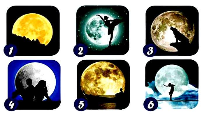 TEST: Vaš omiljeni Mjesec otkriva vašu osobnost, sposobnost - i moćnu poruku!