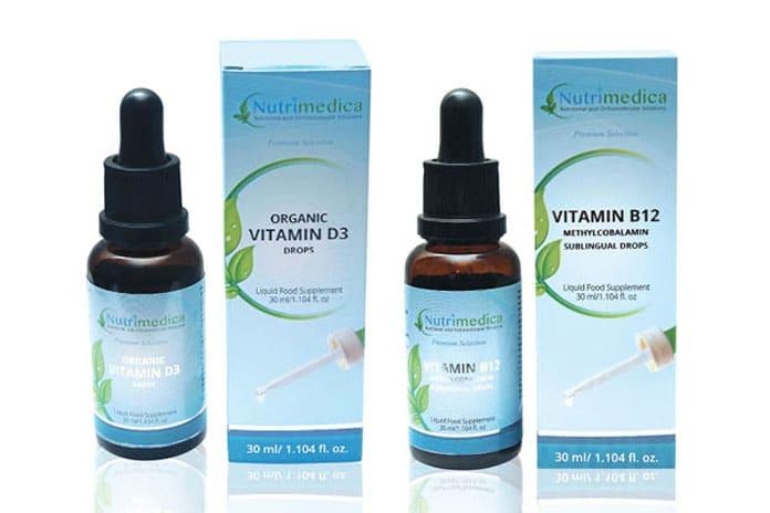 Paket vitamina u kapima: D3 i B12