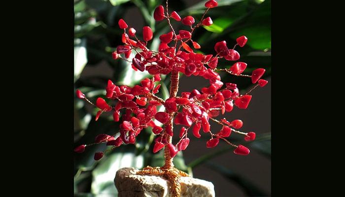 Drvo sreće Koralj na morskom kamenu - Ljubav, strast i vjernost