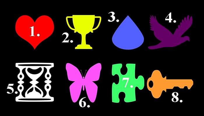 Izaberite jedan simbol - On otkriva vaš karakter i daje odličan savjet!