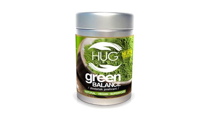Green Balance - Koncentrirana alkalna zelena superhrana od 11 satojaka (vegan)