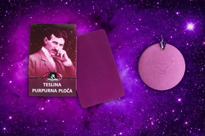 Iscjeljujuća sredstva za otklanjanje vaših zdravstvenih tegoba - Teslina purpurna ploča i teslin disk