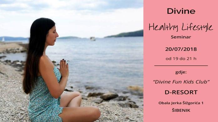 20.07. Šibenik - Divine Healthy Lifestyle Seminar