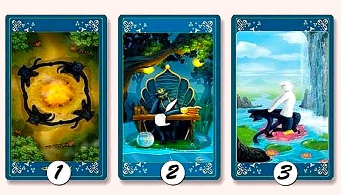 Odaberite jednu kartu kako biste otkrili svoju tamnu stranu
