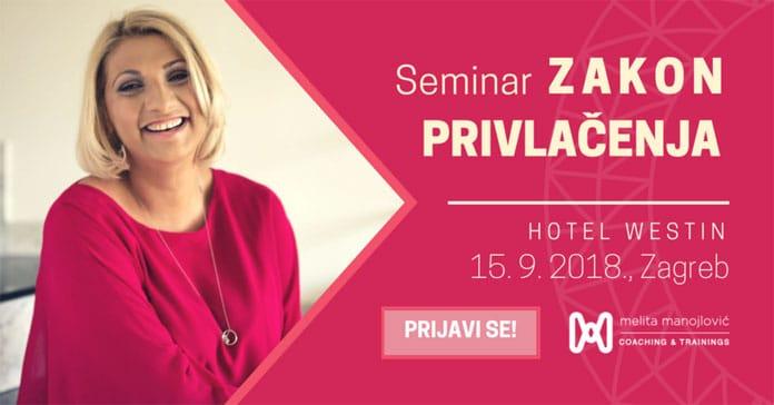 15.09. Zagreb - Seminar: Zakon Privlačenja
