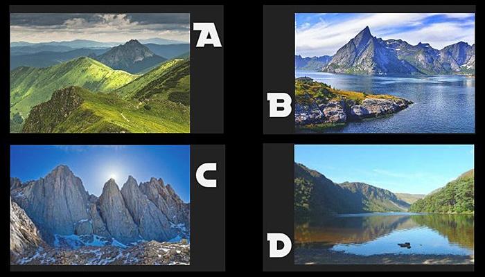 Koju planinu želite istražiti? Vaš izbor otkriva vašu istinsku snagu duše
