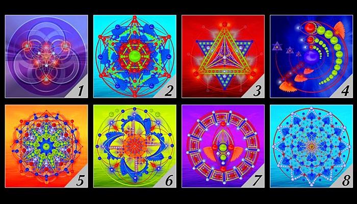 Odaberite 1 hologram i otkrijte što vam vaša vibracijska frekvencija pokušava reći