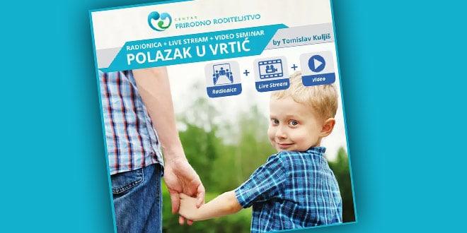Predavanje Tomislava Kuljiša - Polazak u vrtić + iskustvene radionice