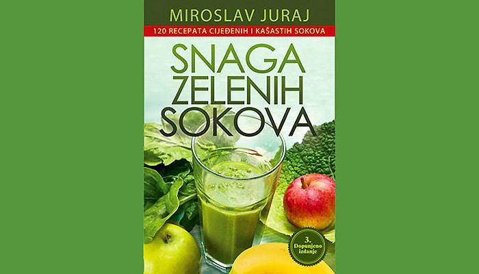 Snaga zelenih sokova – 120 recepata cijeđenih i kašastih zelenih sokova