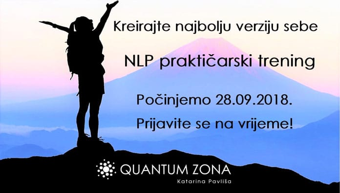 NLP praktičarski trening - pouzdan izbor osobnog razvoja i uspjeha