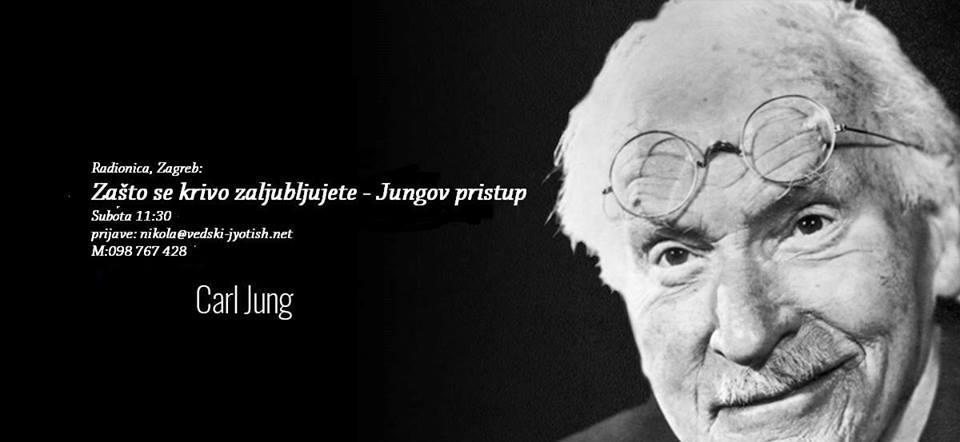 08.09. Zagreb - Radionica: Zašto se krivo zaljubljujete - Jungov pristup