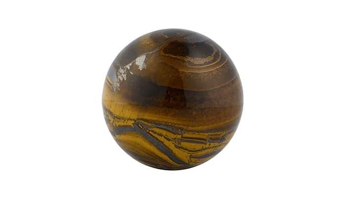 Masažna kugla Tigrovo oko - Kamen vrlo jake zaštite