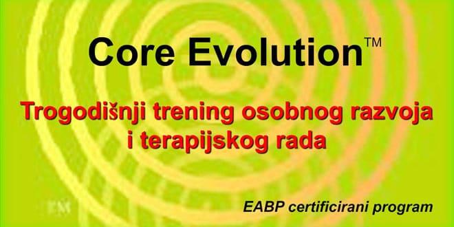 Core Evolution – Prezentacija treninga / Iskustvena radionica / Upis