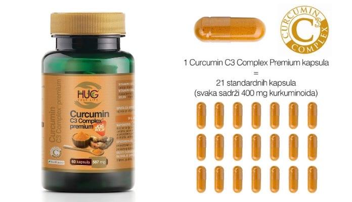Curcumin C3 Complex i 21 kapsula